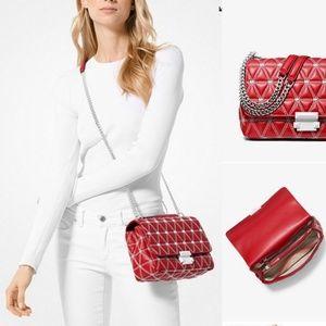 Michael Kors leather bag.